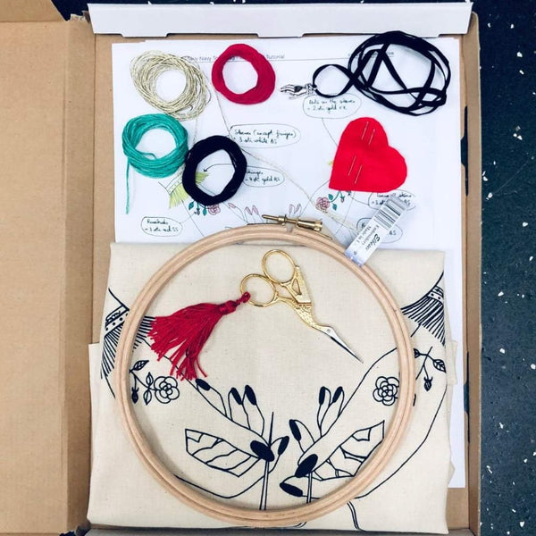 Embroidery Stitch-a-long. Part 1: gather supplies
