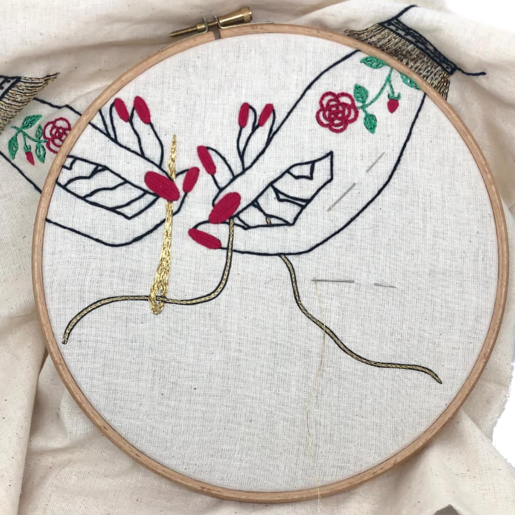 Embroidery Stitch-a-long - VintageMadbyM