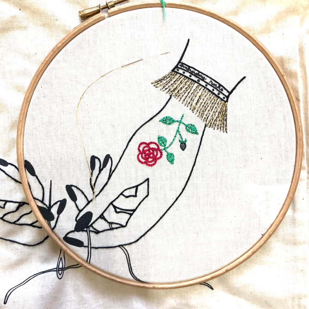 Blog Embroidery - VintageMadbyM