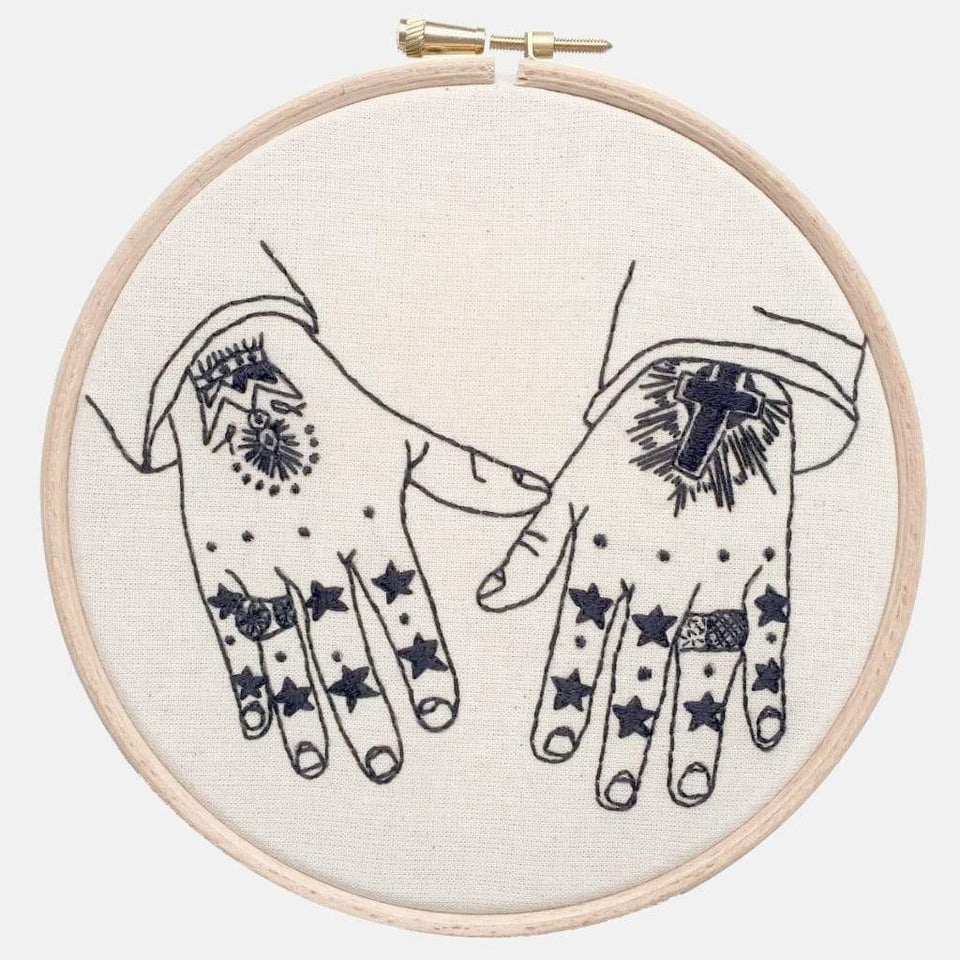 Collection Hands - Embroidery Kits - VintageMadbyM