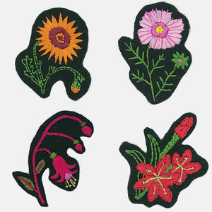 Flower Patch, Embroidery Kit