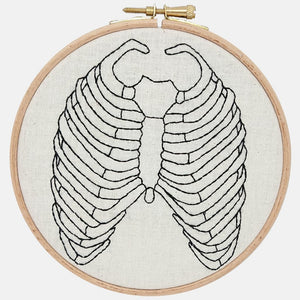 Anatomy, Bones Embroidery Kit - VintageMadbyM