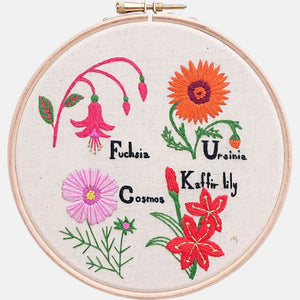 Say it with Flowers Embroidery Pattern & Tutorial (PDF file) - VintageMadbyM