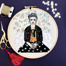 Load image into Gallery viewer, Frida Kahlo, Embroidery Kit - VintageMadbyM