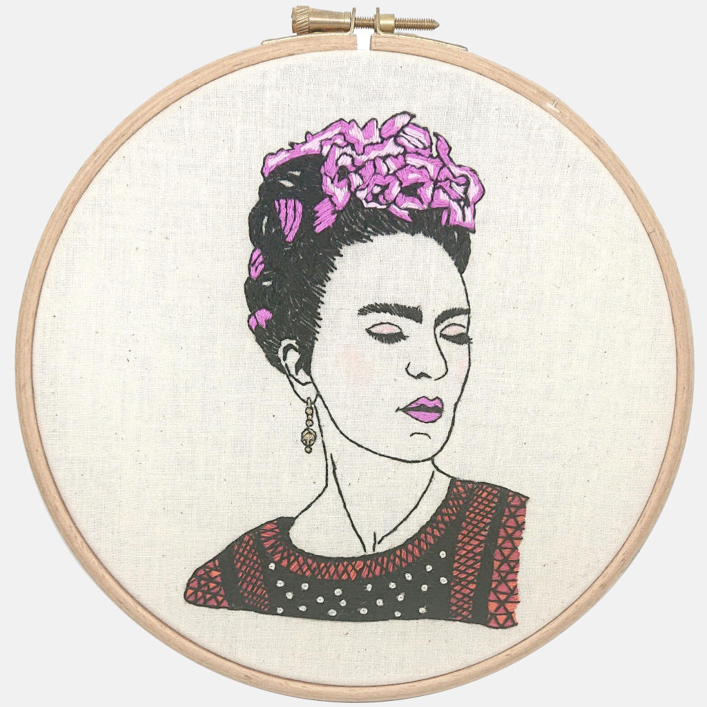 Frida Kalo - you are magic, Embroidery Kit PDF FILE - VintageMadbyM