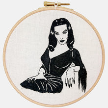 Load image into Gallery viewer, Maila, Beautiful Vampira, Embroidery Kit - VintageMadbyM