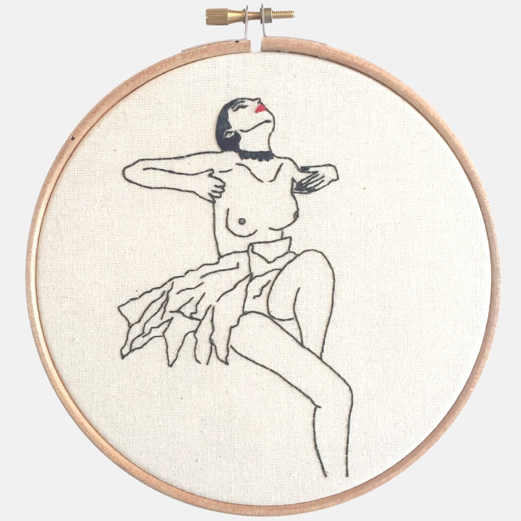 L'Amour Looks Like You, Embroidery Kit