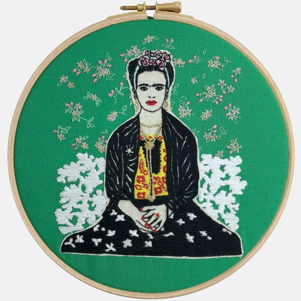 Frida Kahlo, Embroidery Kit - VintageMadbyM