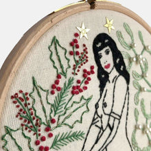 Load image into Gallery viewer, The Christmas Pin Up Embroidery Kit - VintageMadbyM