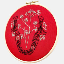 Load image into Gallery viewer, Anatomy & Botanic: Baby Breath in my Jaw Embroidery Kit - VintageMadbyM