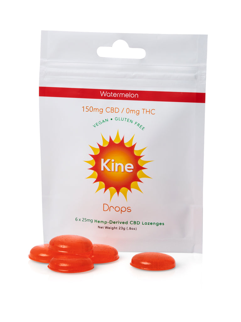Watermelon CBD Drops - 25mg Lozenges (150mg/500mg)