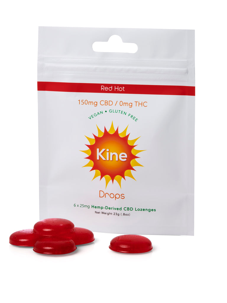 Red Hot CBD Drops - 25mg Lozenges (150mg/500mg)