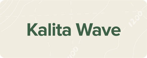 Link to Kalita Wave Brew Guide