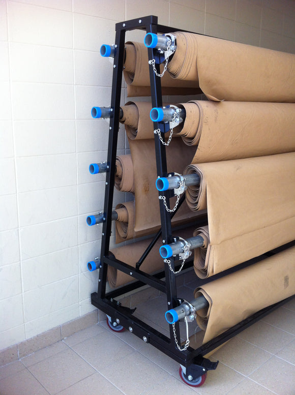 Gym Floor Cover Storage Rack
