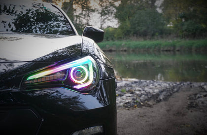Scion FR-S UPGRADED Headlights