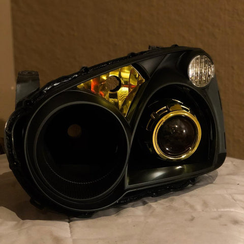 "2004 - 2005 Subaru Impreza WRX Retrofitted ""Stuntin'"" Headlight Build (Blobeye) - Light Creationz LLC"
