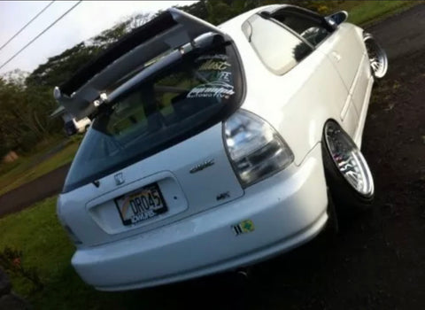 99-00 Civic hatchback clear tails
