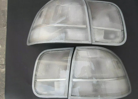 96-98 civic 4Door clear tail lights