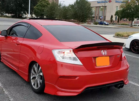 2012-2013 civic coupe clear tails