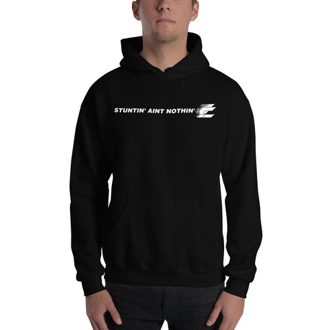 "Light Creationz ""STUNTIN' AINT NOTHIN'"" Hoodie - Light Creationz LLC"