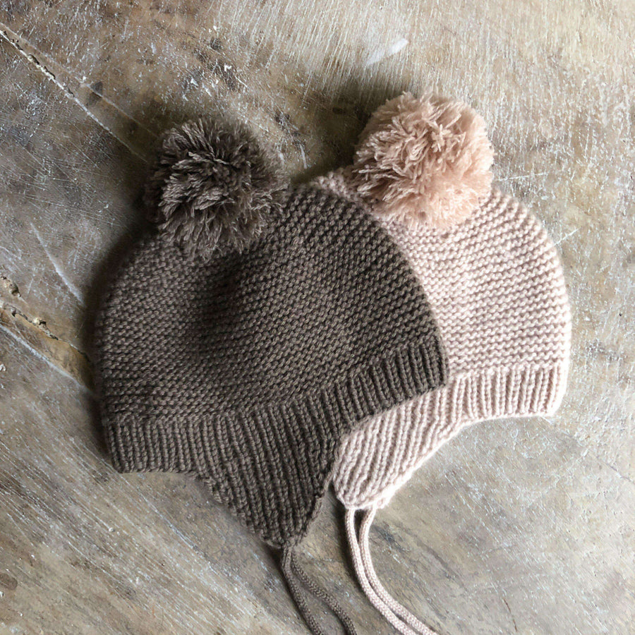 Bobo cashmere hat brown