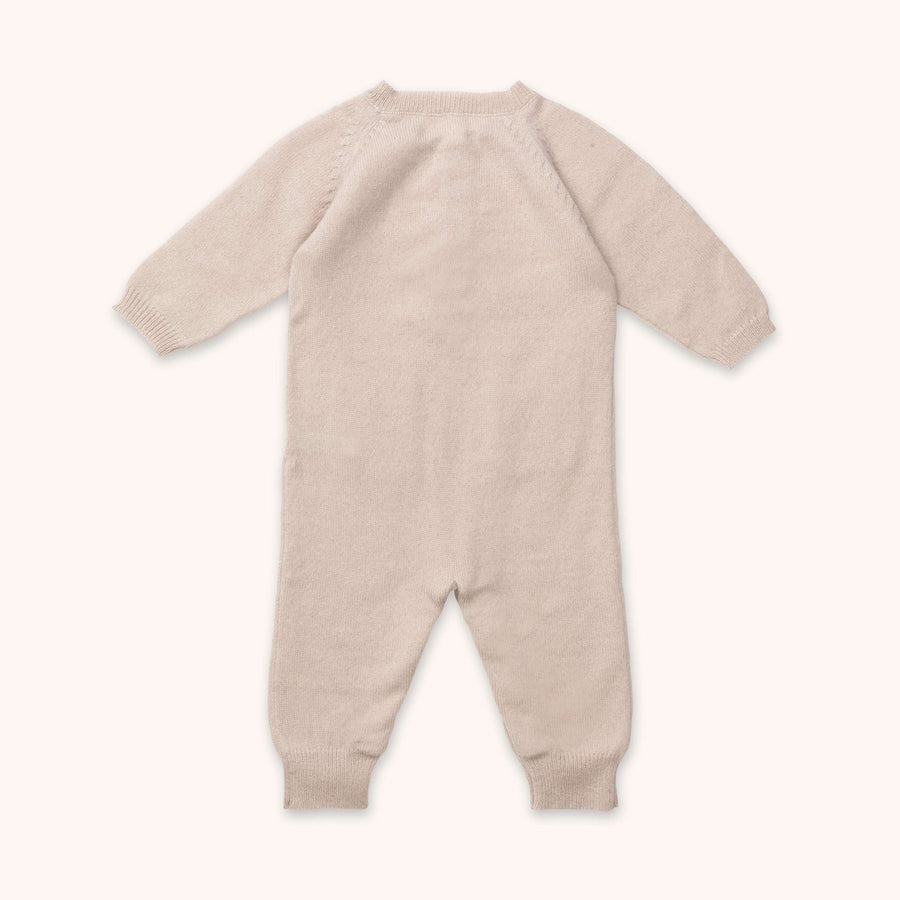 Juno cashmere jumpsuit powder