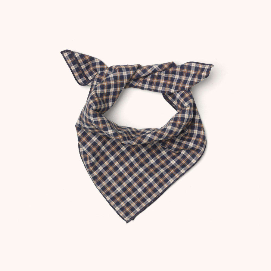 Eddie scarf checked flannel