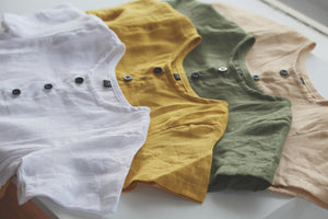Toddler Linen T-shirt - Alskar Designs