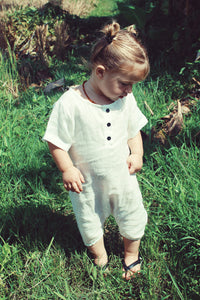 Toddler Linen Jumpsuit - Alskar Designs