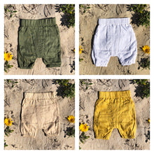 Load image into Gallery viewer, Toddler Linen Shorts - Alskar Designs