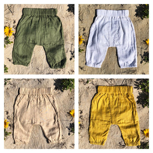 Toddler Linen Pants - Alskar Designs