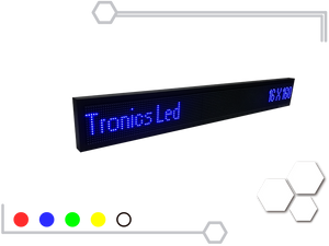 Tablero Led de un color 16 X 160 cm - Tronics Led