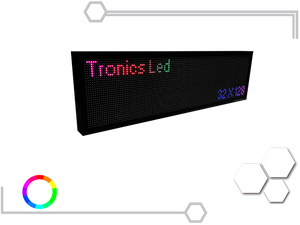 Tablero Led Full Color RGB 32 X 128 cm - Tronics Led