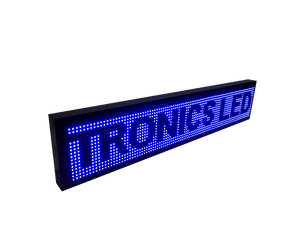 Tablero Led de un color 16 X 96 cm - Tronics Led