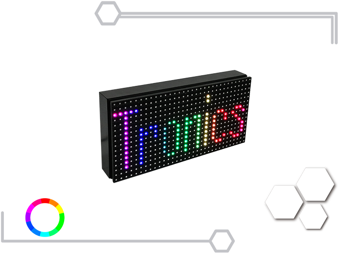 Tablero Led Full Color 16 X 32 cm