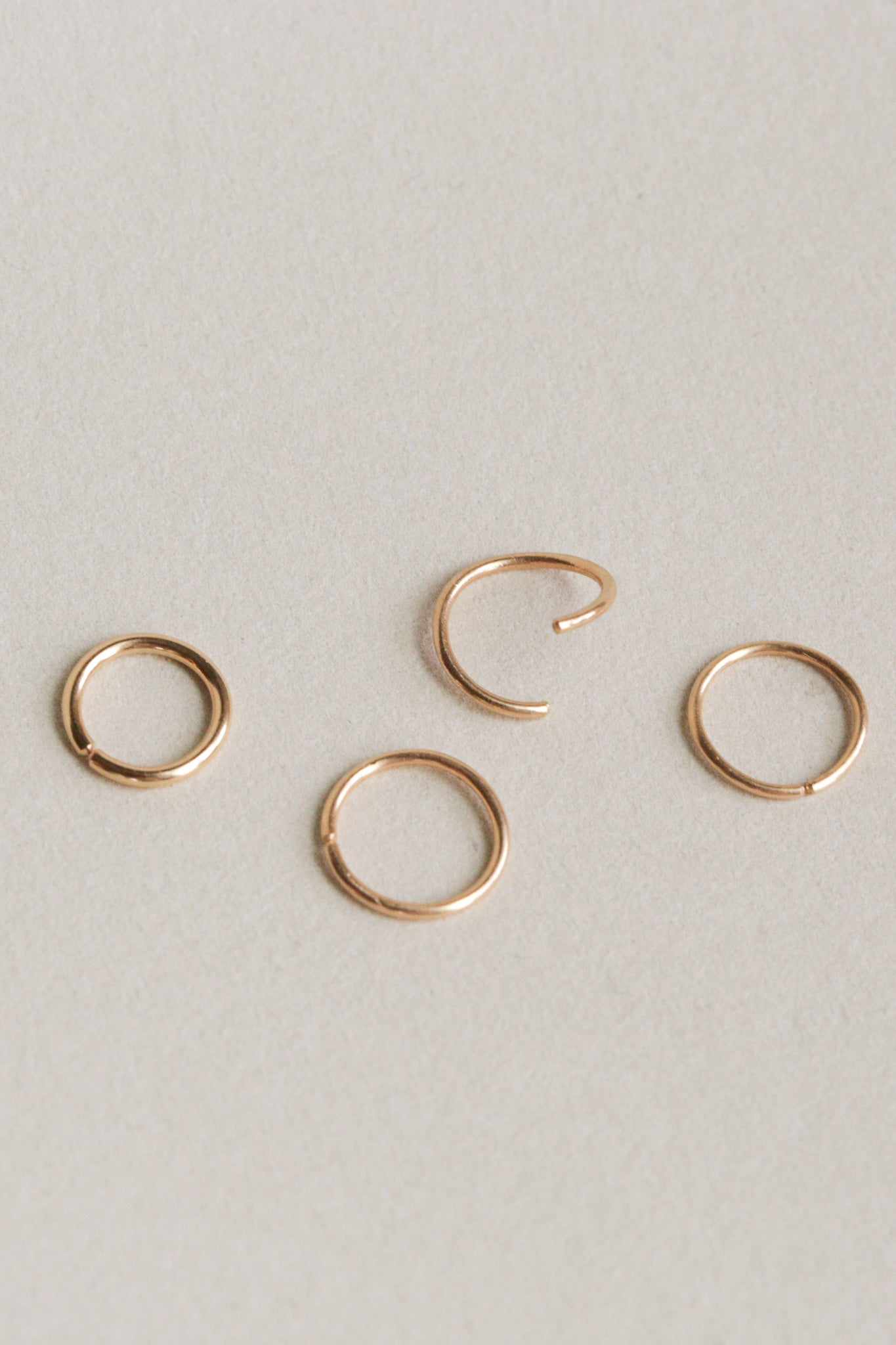 14k Pierce Hoop