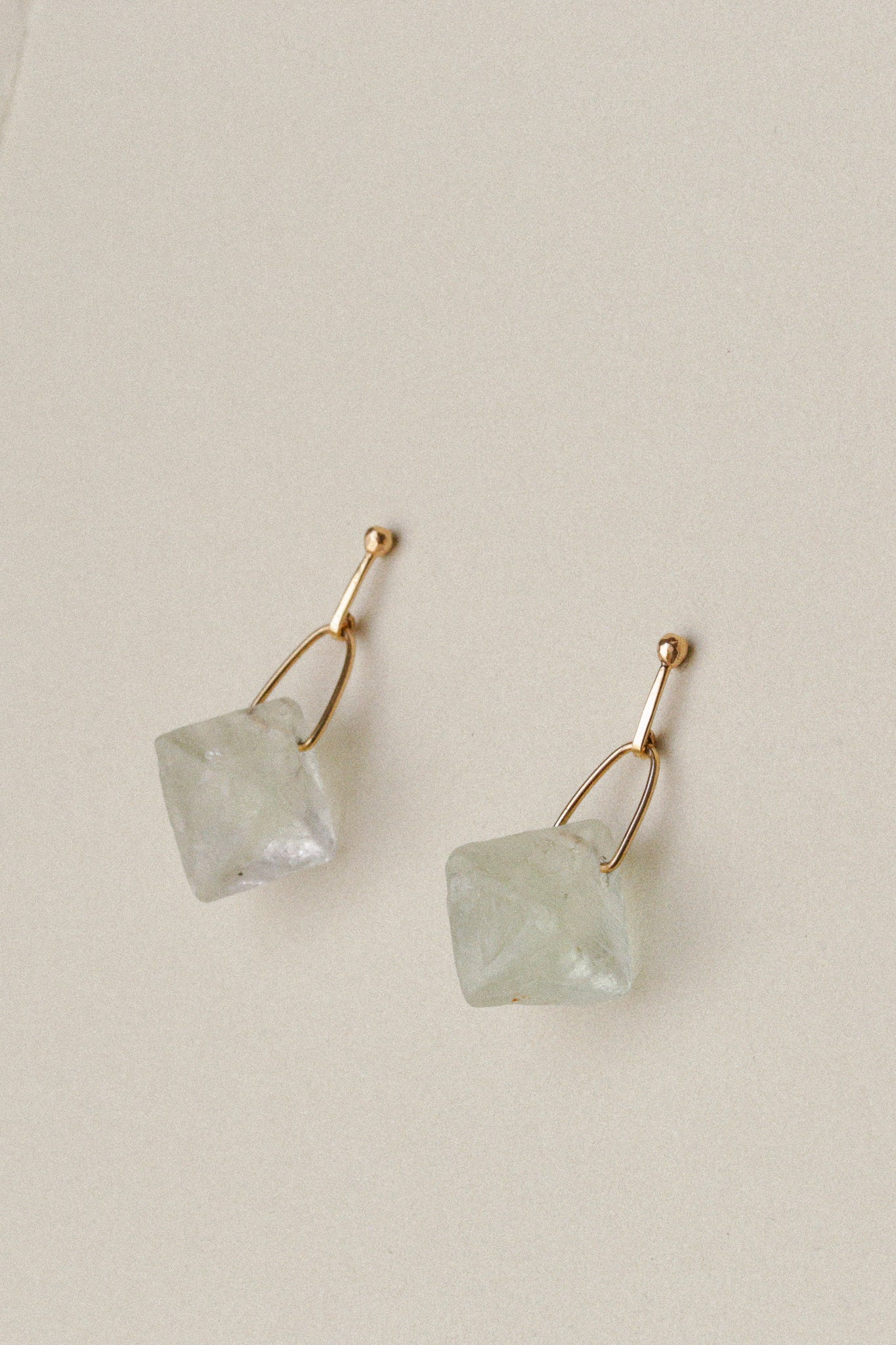 Fluorite Prism Earrings