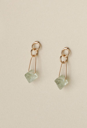 Fluorite Ronan Earrings