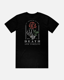 Till Death Do Us Part Tee- Black