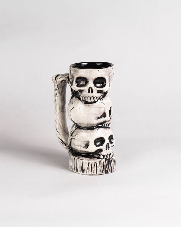 Triple Skull Limited Edition Ceramic Mug
