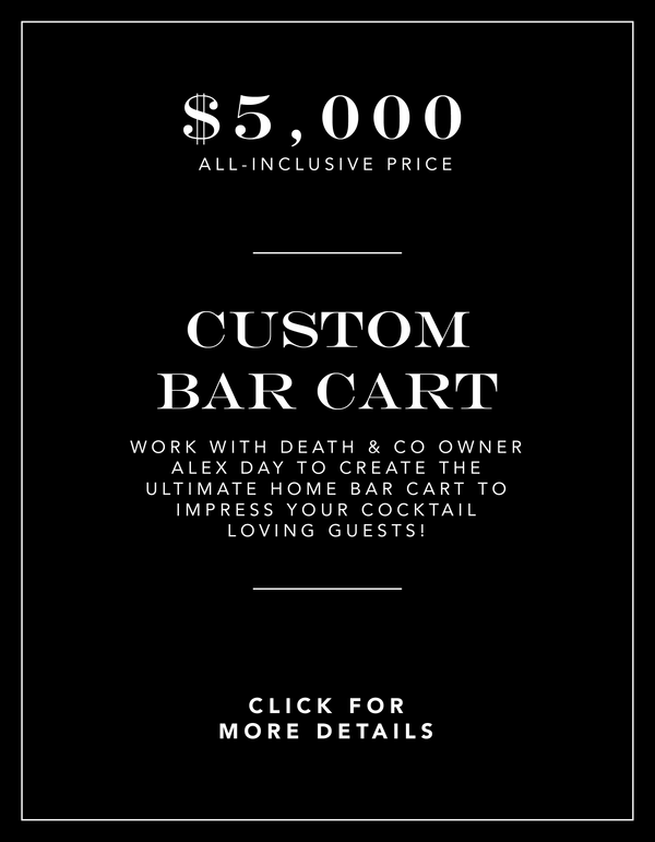 Custom Bar Cart Experience