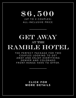 Get Away At The Ramble Hotel Experience