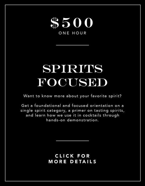 Spirits Focused Experience
