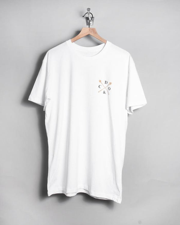 Death Mix Tee - White