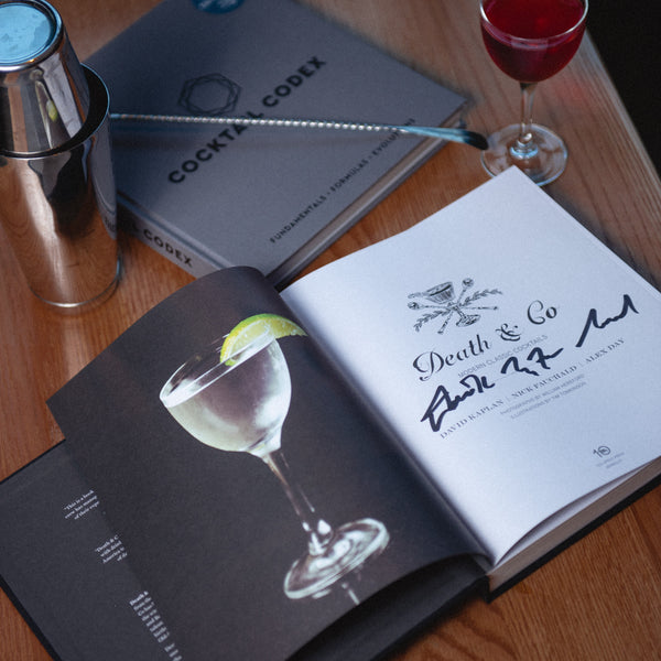 "Cocktail Codex: Fundamentals.Formulas.Evolutions ""Signed Exclusive"""