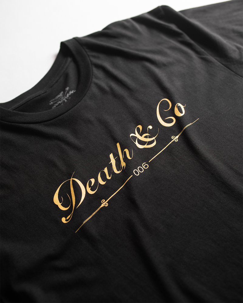Death & Co Logo Tee