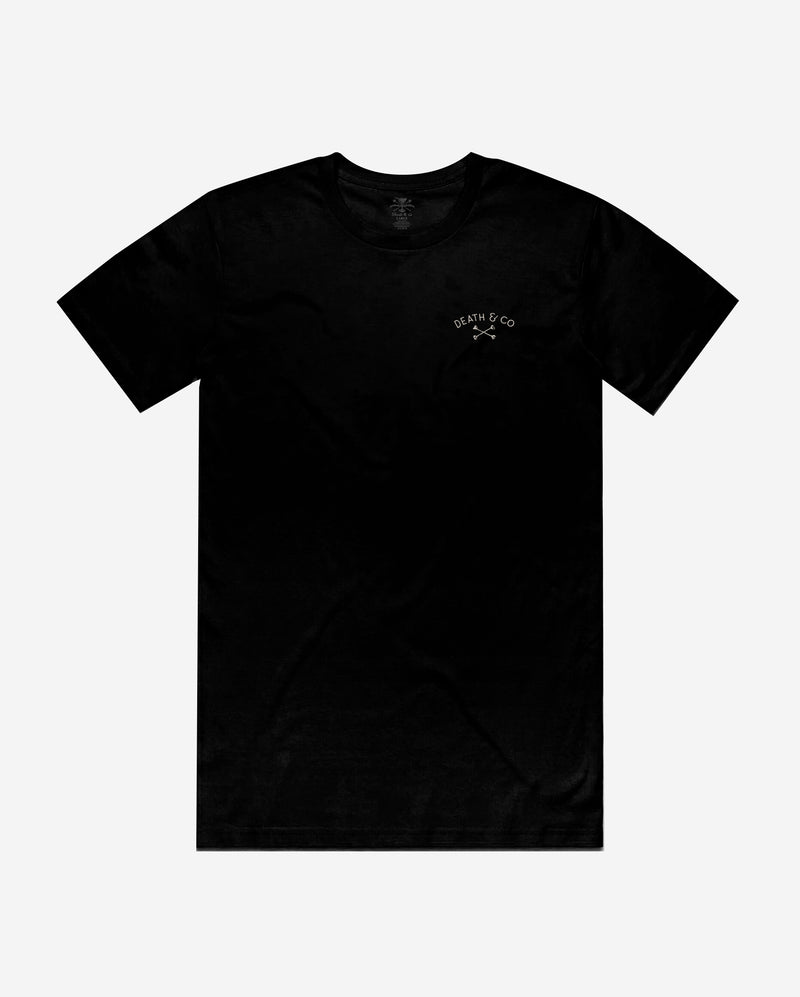 First Come Tee- Black
