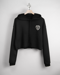 I LOVE D&CO Women's Cropped Hoodie
