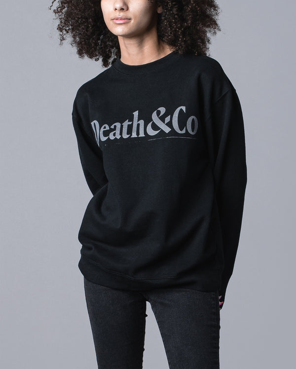 Core Women's Crew Fleece- Black