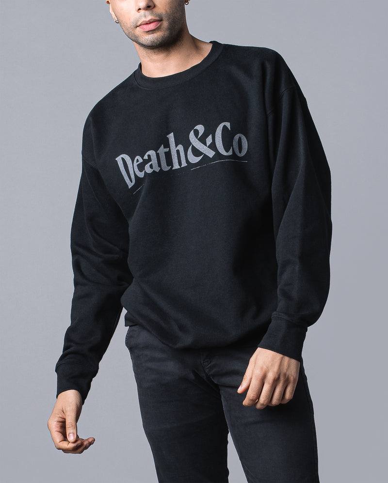 Core Crew Fleece- Black